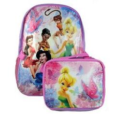 Disney Fairies Backpack and Lunch Bag$24.99