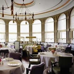 Roux at The Landau - The Langham | The Luxury Restaurant Guide - Louise and I went here, when we visited London for the night in May