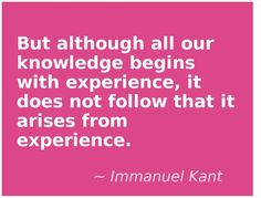 Why yes Mr. Kant I do tend to repeat my mistakes!