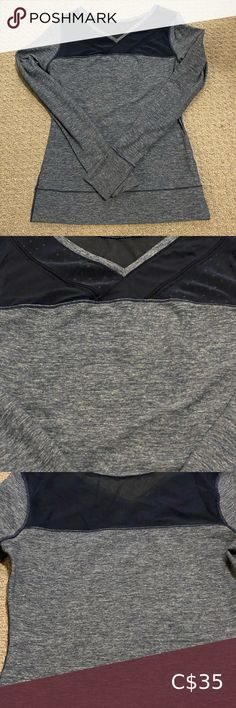 Lululemon athleisure long sleeve The perfect top for whatever you're doing - run, ski, shop or errands! Very soft and stretchy. Ski Shop, Athleisure, Lululemon Athletica, Long Sleeve Tees, Running, Sleeves, Closet, Stuff To Buy, Beauty