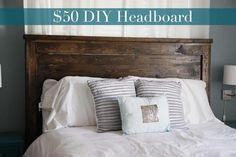 DIY Furniture : DIY Queen Headboard {Building}