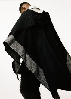 Topman AAA collection black cape