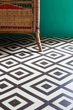 Image Result For Nz Black And White Tile Diamond Pattern