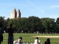 Central Park is my backyard.