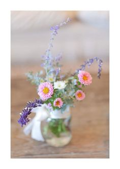 Spring table vases