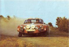 Various photos from the 1973 Rally RACE Spain