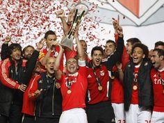 Benfica won the league cup yesterday. Congratulations guys!