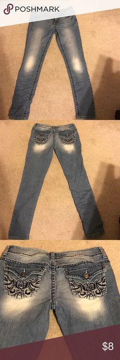 Grane Blue Jeans Grane brand blue jeans, size 13 juniors, like new. Grane Jeans