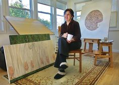 Meet your local artist: Anna Jurinich of Wading River... Wading River artist Anna Jurinich was born in Zadar, Croatia. Her family came to the United States via Italy in 1958, when she was 11, and settled in Astoria and Flushing.