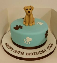 Labrador Birthday Cake Puppy Cakes 18th Themed
