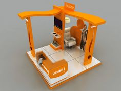 Sunsilk Activation Booth Design - 2 Options - by Hossam Khattab, via Behance