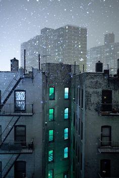 #outdoors #night #buildings