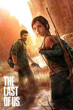 Póster The Last Of Us Póster con la imagen de los protagonistas del popular videojuego The Last of Us.