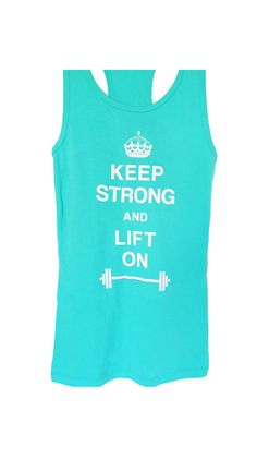 Keep Strong and Lift On Women's #Workout #Tank by #NobullWomanApparel, for only $24.99! Click here to buy https://www.etsy.com/listing/154677975/keep-strong-and-lift-on-womens-workout?ref=listing-11
