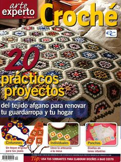 crafts for home: arte experto croche magazine, free crochet patterns - crafts ideas - crafts for kids Crochet Cross, Crochet Art, Thread Crochet, Crochet Motif, Crochet Doilies, Crochet Stitches, Free Crochet, Crochet Patterns, Knitting Magazine