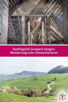 Jurapark Aargau: Wanderung auf den Cheisacherturm & 4 weitere Ausflugsziele im Aargau S Bahn, Fern, Austria, Switzerland, Hiking, Italy, Mountains, Nature, Travel