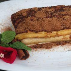 Receita de Pernambuco - Cartola pelo Chef Alex! Uma delicia..  http://cozinhachic.com/diario-de-viagem-porto-de-galinhas-receita-do-chef-alex/