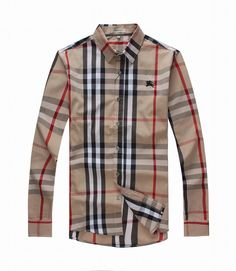 Burberry Mens Long Sleeve Shirt