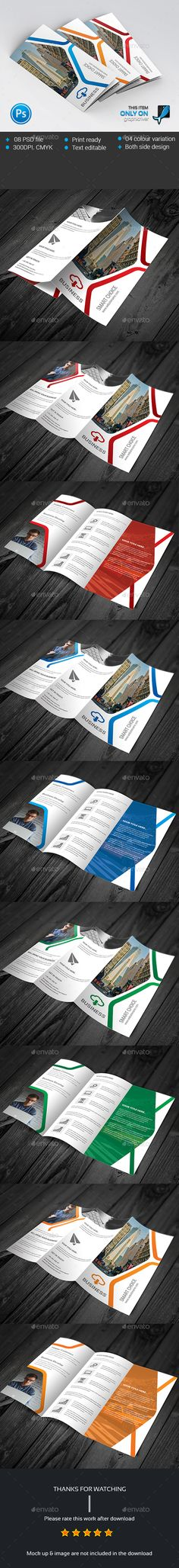 Corporate Trifold Brochure Template PSD #design Download: http://graphicriver.net/item/corporate-trifold-brochure/13919969?ref=ksioks