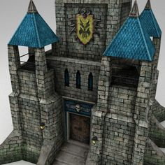3d castle - $17