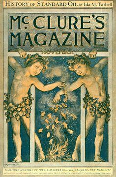 1902 Mcclure S Magazine Inaugurates The Muckraking Era