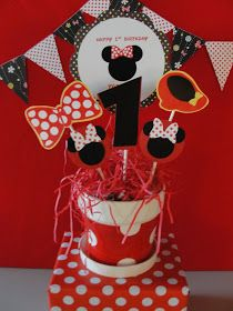 My Party Dreamz: Minnie Mouse 1st Birthday Party