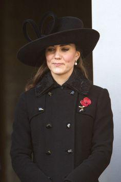 Kate Middleton - Remembrance Sunday
