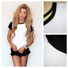 Todays Fashion Fix: Bellfield Tiv Burn Out Spot Tee. Love Clothing, Burns, Crop Tops, Tees, Womens Fashion, Clothes, Style, Outfits, Swag