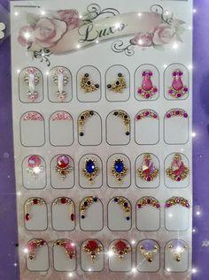 Nail Gems, Nail Jewels, Gem Nails, Crystal Jewelry, Rhinestones, Nail Art, Tattoos, Art Nails, Simple Nail Design