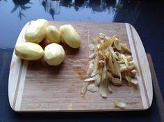 Homemade zelf vers gesneden frietjes van the Philips Chef