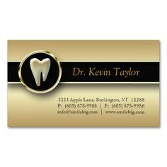 311 Dental Molar Business Card Gold Metallic. This is a fully customizable business card and available on several paper types for your needs. You can upload your own image or use the image as is. Just click this template to get started!