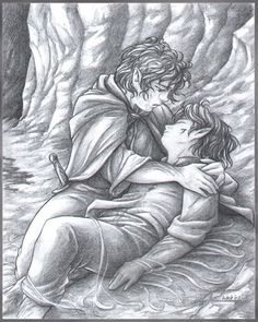 LotR:  Stay the cause by Saimain.deviantart.com on @deviantART - Definitely one of my absolute favourite pieces of Lord of the Rings fanart.
