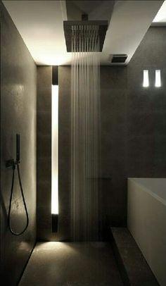Bring the shower element that makes you feel like a million bucks #luxurybathrooms #bathroom #shower