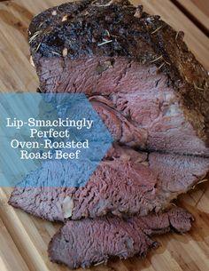 Slow-Roasted Oven Recipe for Perfect Roast Beef – Sandwich Slow Cooked Roast Beef, Rump Roast Recipes, Oven Roast Beef, Tender Roast Beef, Venison Roast, Sirloin Tip Roast, Roast Beef Sandwiches, Beef Ribs, Pot Roast
