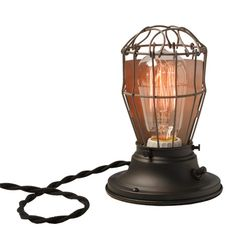 Clover Industrial Table Lamp