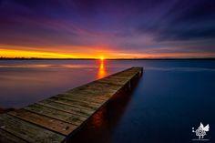 Sunset at Toukley