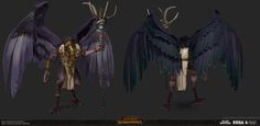 ArtStation - Total War: Warhammer- Sarthorael the Everwatcher, Matthew Davis