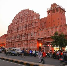 """The Hawa Mahal """"Temple of Wind"""" Jaipur, India. One of my favorite cities in Indi. - Scott Pollei - - The Hawa Mahal """"Temple of Wind"""" Jaipur, India. One of my favorite cities in Indi. Goa India, North India Tour Packages, Monument In India, India Holidays, Tourist Places, Romantic Vacations, India Travel, India Trip, Conte"""
