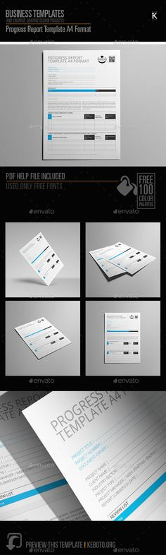 Corporate Postcard Template Vol 11 Postcard template - format of a progress report