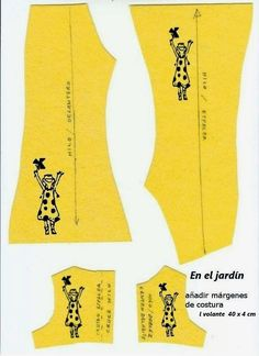 ANILEGRA COSE PARA NANCY: PATRONES Y TUTORIAL conjunto EN EL JARDÍN de NANCY Doll Dress Patterns, Clothing Patterns, Sewing Patterns, Barbie And Ken, Barbie Dolls, Vestidos Nancy, Nancy Doll, Disney Animator Doll, Paper Dolls