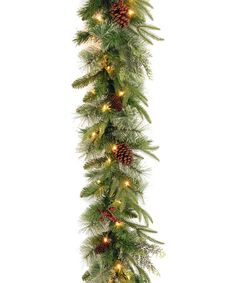 Another great find on #zulily! 9' Colonial Lighted Garland #zulilyfinds