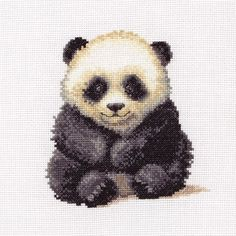 Cute Little Panda - Anchor Cross Stitch kit: