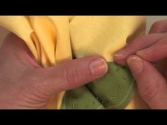 How To Make An Invisible Stitch the Piece O' Cake Way!