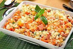 Receita de Salada de arroz com camarão em receitas de saladas, veja essa e…