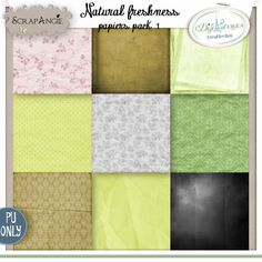 Natural freshness papiers pack 1