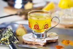 Hemsley and Hemsley Pep Up Tea Yummy Drinks, Healthy Drinks, Yummy Food, Hemsley And Hemsley, Turmeric Tea, Fresh Turmeric, Ground Turmeric, Healthy Eating Recipes, Clean Recipes