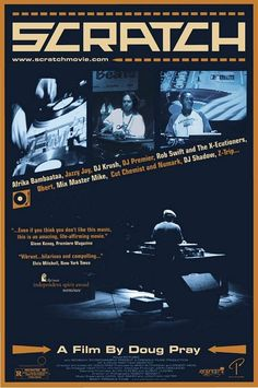 Scratch , starring Marc 7, Afra, Carlos Aguilar, Akil. A feature-length documentary film about hip-hop DJing, otherwise known as turntablism. From the South Bronx in the 1970s to San Francisco now... #Documentary #Music
