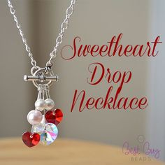 Simple and beautiful drop necklace.