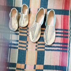 That time I got loafers to match my kid / @zuziifootwear #customzuzii