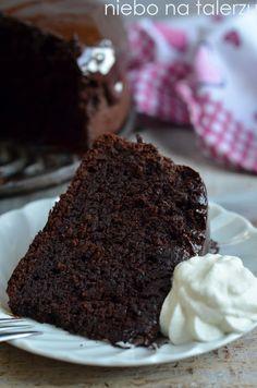 czekoladowe ciasto Mississippi Mud Cake, Chocolate Mud Cake, Melt In Your Mouth, Ice Cream, Baking, Recipes, Food, Glaze, Cakes